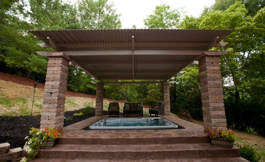 Adjustable Louvered Patio Cover Aztec Enclosures Sunrooms